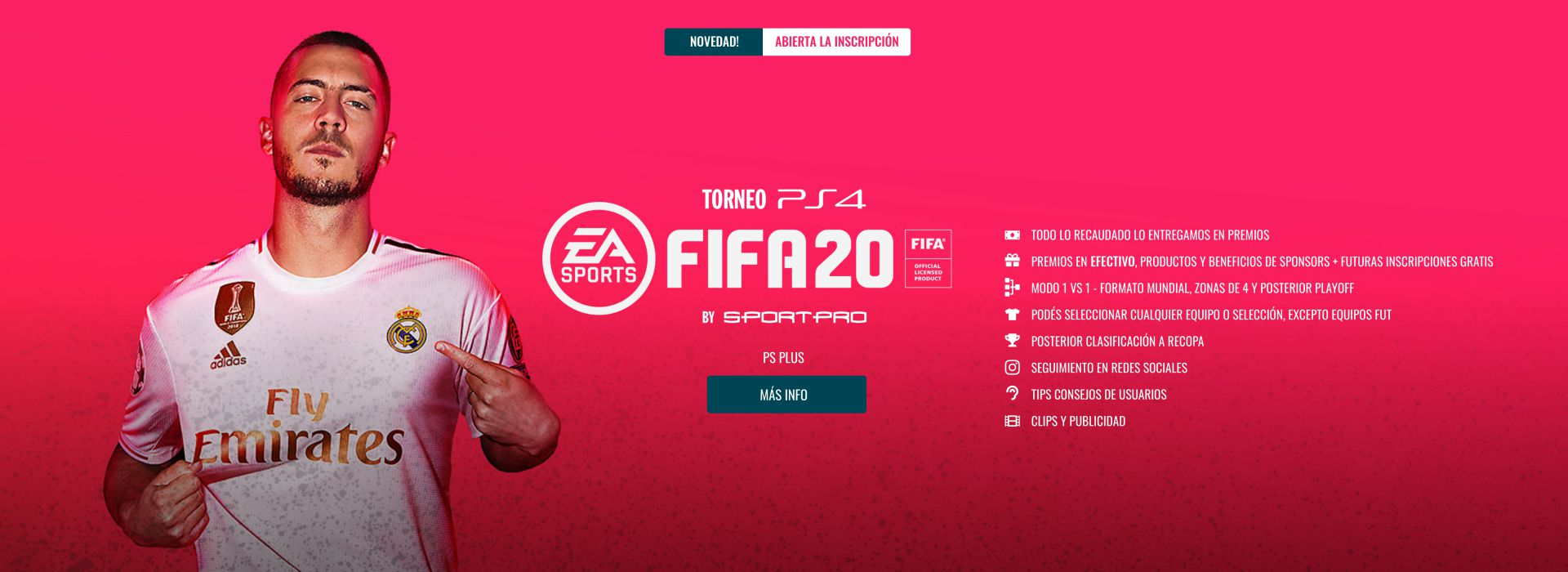 Torneo PS4 FIFA 20